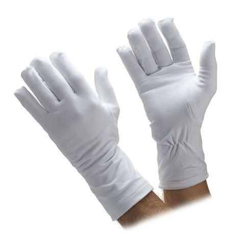 Cotton Glove winter cotton fleece lined honor guard gloves parade gloves gloves