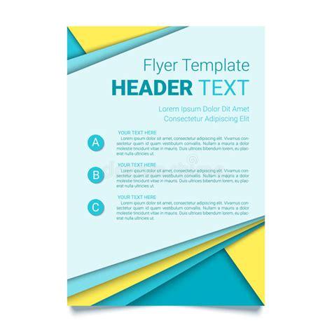 creative flyer design vector creative flyer template modern poster brochure business