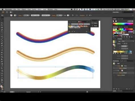 adobe illustrator cs6 gradient text illustrator cs6 new gradient stroke magic youtube