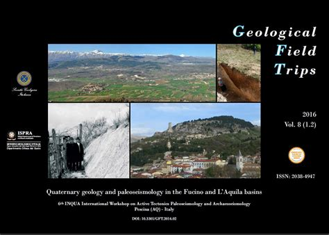 fucino l aquila quaternary geology and paleoseismology in the fucino and l