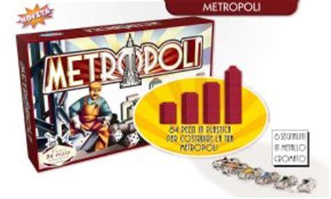 metropoli gioco da tavolo metropoli giochi sul nostro tavolo