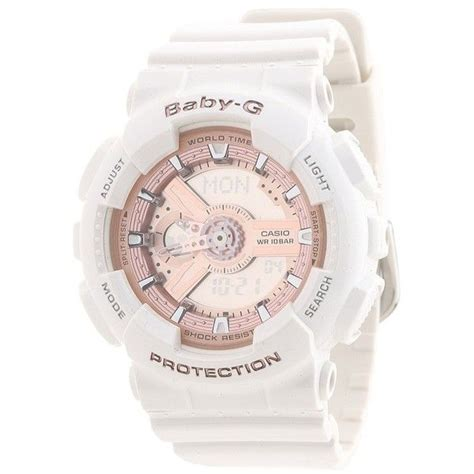Gshock Baby G Black Pink g shock baby g ba110 watches 120 liked on polyvore