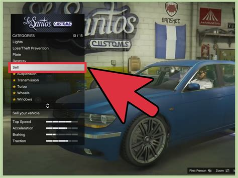 Grand Theft Auto 5 by How To Sell Cars In Grand Theft Auto 5 6 Steps