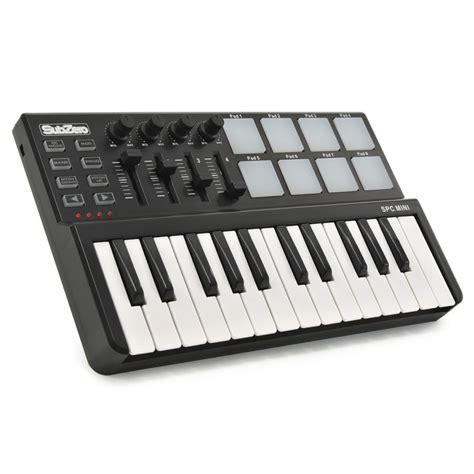Keyboard Komputer Spc subzero spc mini tangent og pad midi controller hos gear4music