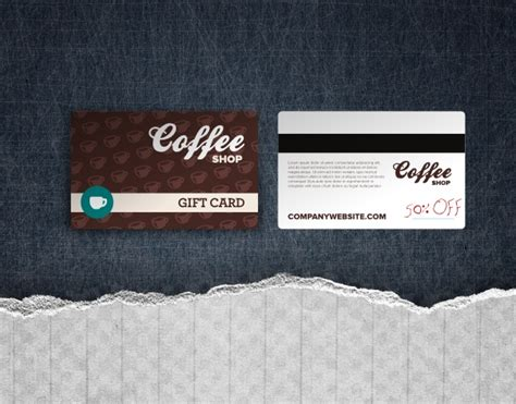 Gift Cards For Business - restaurant gift card template