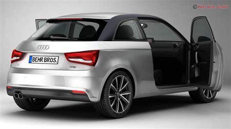 Audi A1 Model by Audi A1 2015 3d Model Buy Audi A1 2015 3d Model