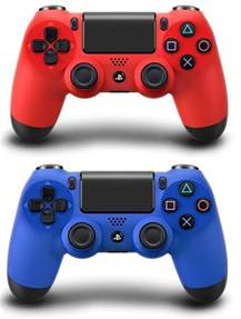 ps4 controller colors ps4 dualshock 4 controller colors magma and wave blue