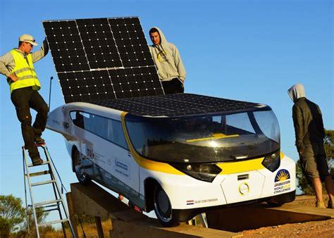 Solar Powered Cruise Cars Use The Sun On The Golf Course by Practical Sun Powered Car Stella Wins World Solar