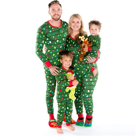 Christmas Lights Home Decor by Northern Lights Matching Family Onesie Pajamas By Hatley