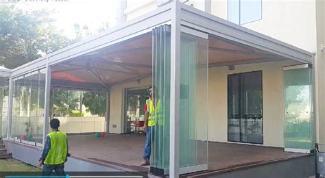Architectural Wall Systems Oman - folding stacking glass wall system exporter supplier in oman