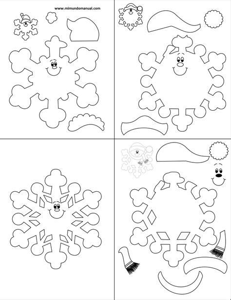 moldes navidenos en fieltro para imprimir moldes de mu 241 ecos navide 241 os en foami para imprimir
