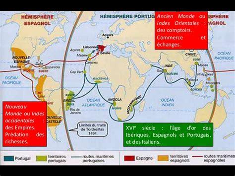 comptoirs des indes mondialisation ib 233 rique 1440 1640