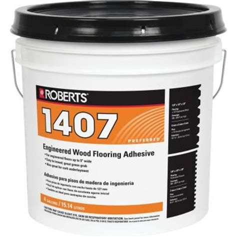 roberts 1407 4 gal engineered wood glue adhesive 1407 4