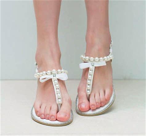 Dressy Sandals For Wedding by Dressy Flat Sandals For Wedding Choozone