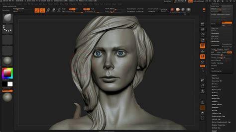 head sculpting tutorial in zbrush 95 best digital hair fur images on pinterest modeling