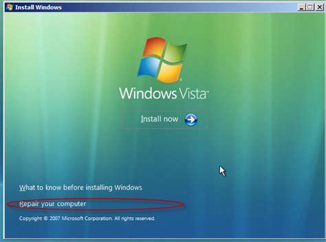 reset pc password vista 4 approaches to reset vista password on the logon screen