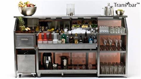 portable bars for sale mobile bar for sale transbar portable bars by bar specialists