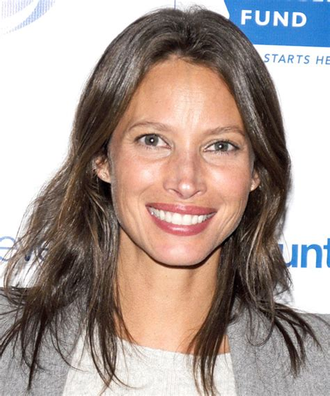 Christy Turlington Hairstyles in 2018