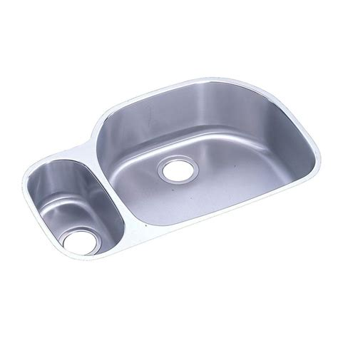 elkay lkdc2085 10 3 8 single handle kitchen faucet in chrome elkay lustertone undermount stainless steel 32 in double