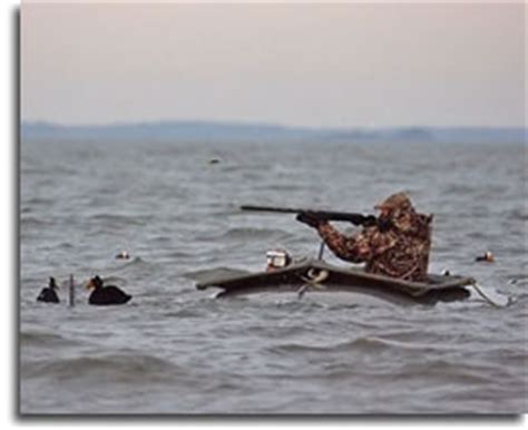 duck hunting from a boat in maryland offshore waterfowl hunting