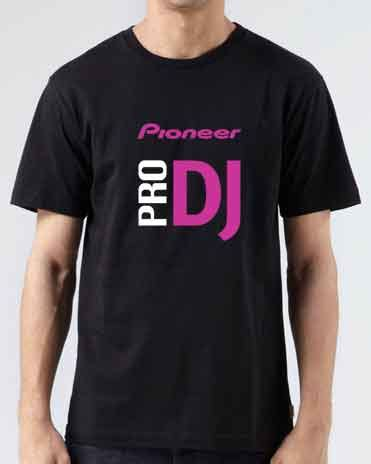 pioneer pro dj t shirt ardamus dj t shirts merch