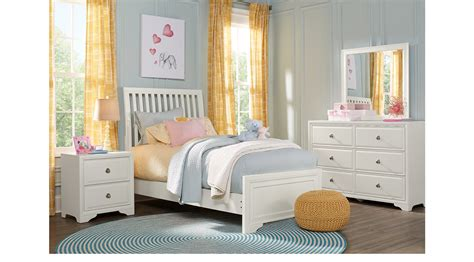 belcourt jr white 5 pc full panel bedroom teen bedroom belcourt jr white 5 pc full slat bedroom