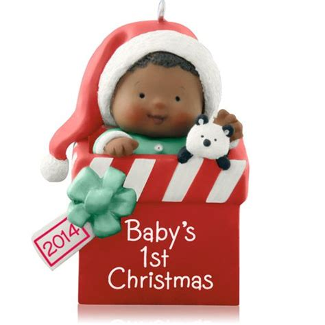 2014 baby s first christmas hallmark ornament hooked on