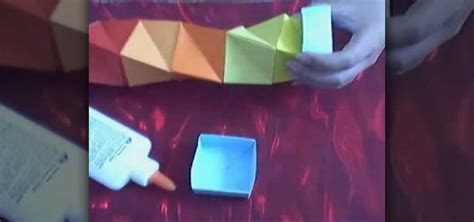 How To Make A Cool Origami Box - how to make a cool paper box 171 origami wonderhowto