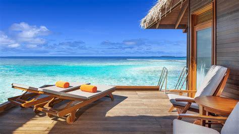maldive bungalow luxury water bungalows sheraton maldives resort