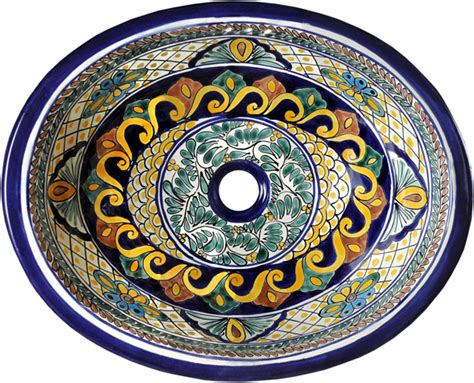 talavera bathroom sinks mexican tile mexican talavera sink vallarta