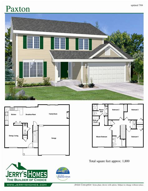 653964 Two Story 4 Bedroom 2 Story 4 Bedroom House Plans Numberedtype