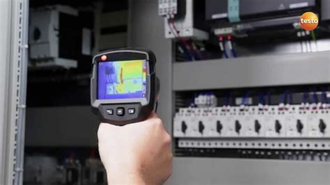 electrical testo thermography in electrical contracting with the testo 870