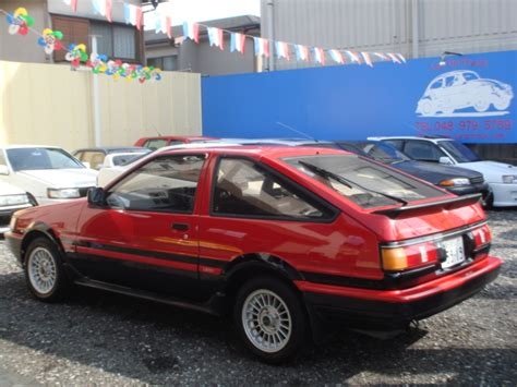 Toyota Corolla Gt For Sale In Japan 1984 1987 Toyota Corolla Ae86 For Sale Autos Post