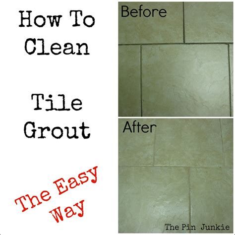 how to clean bathroom tile floor how to clean tile grout