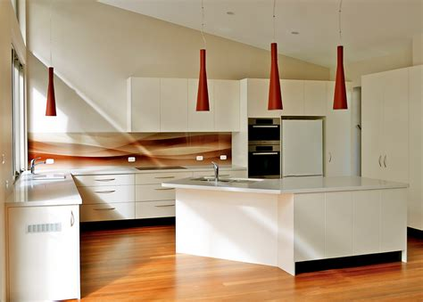 Red Kitchen Designs Coloured Glass Kitchen Cooker Splashbacks Bathroom
