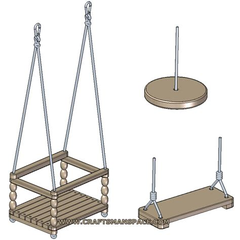 make a swing seat child swing seats plans