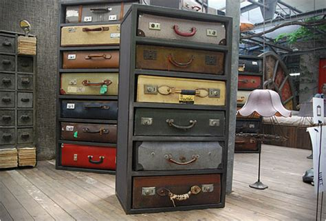 travel suitcase with drawers vintage suitcase dressers by james plumb