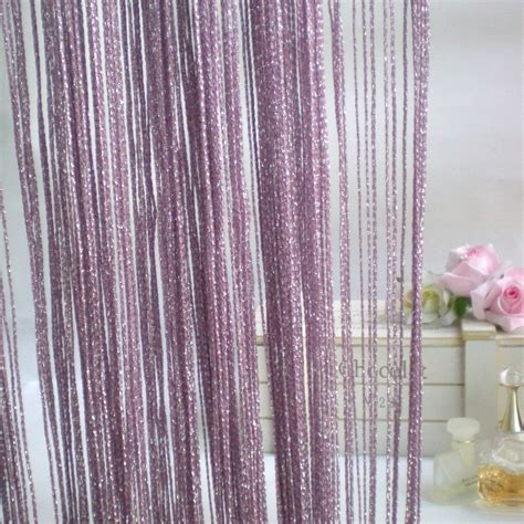 purple silver curtains luxury purple silver string curtain