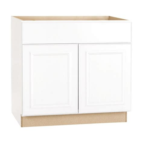 home depot base cabinets kitchen hton bay shaker assembled 36x34 5x24 in sink base