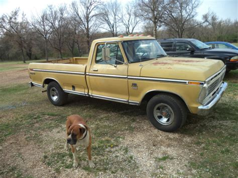 auto air conditioning repair 1984 ford ranger electronic throttle control 1973 ford f 100 regular cab long bed 2wd 390 auto air conditioning rust free for sale ford f