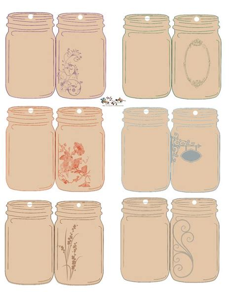 printable journal jar label free download folding jar tags printables so
