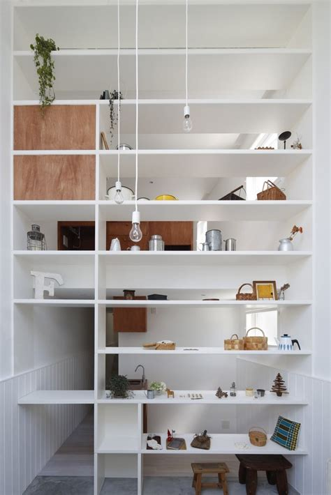 Shop Wall Shelving Fika A Home That Converts Into A Weekend Shop Spoon
