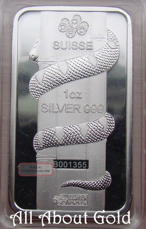 1 Oz Year Of The Silver Bar 999 - lunar silver bar 1 oz p suisse proof like 2013 year