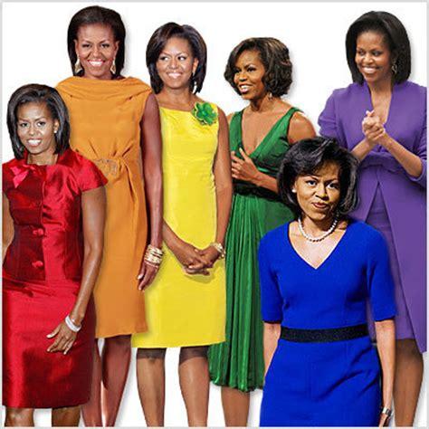 we obama s rainbow wardrobe instyle