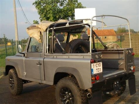 land rover defender 90 300tdi soft top 4 point bolt in