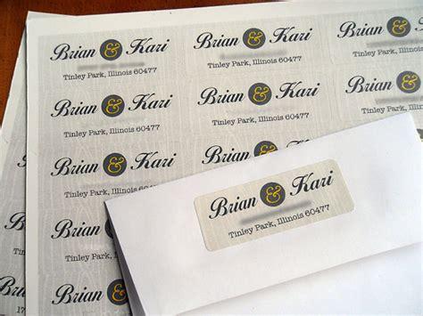 Wedding Return Address Labels Etiquette return address label etiquette wedding invitation return