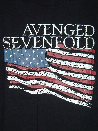 T Shirt Avenged 7 Fold alya t shirt rock band bullet for my