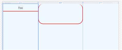 border layout xaml wpf tab shaped border needs clipping stack overflow
