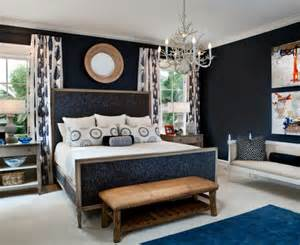 Pretty Navy Blue Curtains vogue Toronto Traditional Dining Room Inspiration with beige mirror