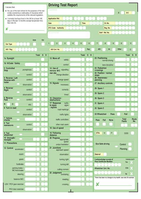 mock certificate template egzamin praktyczny na prawo jazdy w uk